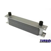 Olajhűtő TurboWorks 9-soros 260x70x50 AN10 Ezüst